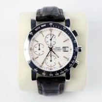 Girard Perregaux GP 7000 Steel 39mm White Arabic numerals