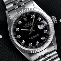 Rolex Datejust Steel 36mm Black United States of America, New York, New York