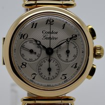 Condor Yellow gold 34mm Manual winding pre-owned