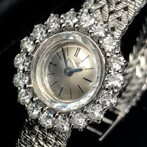Piaget 1970s Piaget 18kt 2.25 Diamond  Bracelet Watch