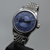 Oris Classic Acier 42mm Bleu