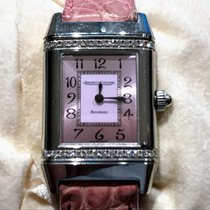 Jaeger-LeCoultre Reverso FLORALE with diamond encrusted case...