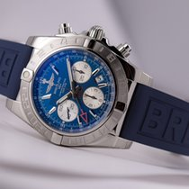 Breitling Chronomat 44 GMT Blue Dial Diver Pro III (holiday...