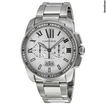 Cartier Calibre de Cartier Chronograph neu 42mm Stahl