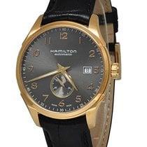 Hamilton Zeljezo 40mm Automatika H42575783 HAMILTON JAZZMASTER Piccoli Secondi Oro Nero 40mm nov