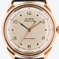 Cyma nou Atomat 34mm Aur roz