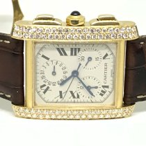 Cartier Tank Française occasion Or rose