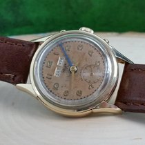 TAG Heuer Yellow gold Automatic Brown Arabic numerals pre-owned