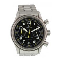 Omega Dynamic Chronograph Acero 38mm Negro