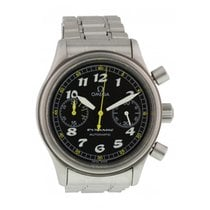 Omega Dynamic Chronograph Stal 38mm Czarny