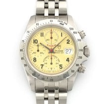 Tudor Tiger Prince Date Steel 40mm Champagne United States of America, California, Beverly Hills