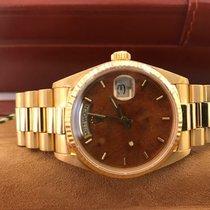 Rolex Day-Date 36 Geelgoud 36mm Goud Geen cijfers Nederland, Rotterdam