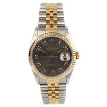 Rolex 16233 Goud/Staal 1992 Datejust 36mm tweedehands