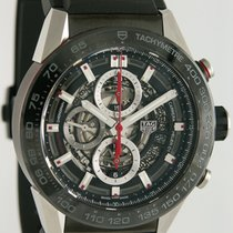 TAG Heuer Carrera Calibre HEUER 01 Keramik 45.5mm Transparent