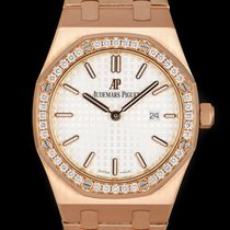 Audemars Piguet Royal Oak Lady Roségoud 33mm Zilver