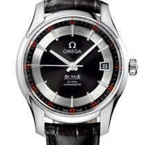 Omega De Ville Hour Vision Acero 41mm Negro
