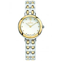 Pequignet Yellow gold Automatic White 29mm pre-owned