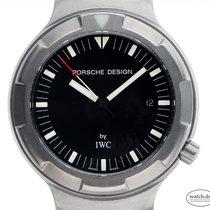 IWC Porsche Design Титан 42mm Чёрный