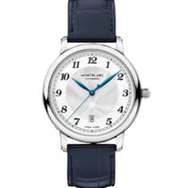 Montblanc Steel 39mm Automatic 117574 new