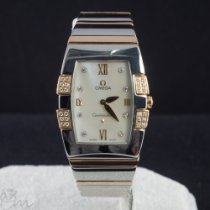 Omega Constellation Gold/Steel 26mm Mother of pearl