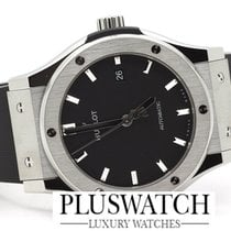 Hublot Steel Automatic Black 42mm new Classic Fusion 45, 42, 38, 33 mm