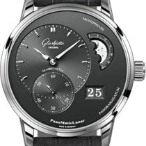 Glashütte Original PanoMaticLunar Steel 40mm Grey United States of America, New York, Airmont