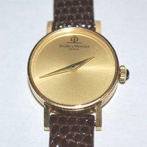 Baume & Mercier 18k Solid Gold 17 Jewel Ladies Watch 36636