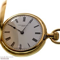 Patek Philippe Lady Pocket Watch Savonette 18k Yellow Gold...