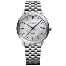 Raymond Weil Maestro Silver Dial Stainless Steel Men's...