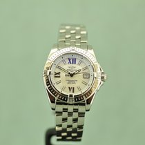 Breitling Cockpit Lady Stahl 32mm Perlmutt