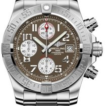 Breitling Avenger II Automatic Grey Dial Stainless Steel...