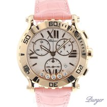 Chopard Happy Sport Chrono Rose Gold NEW