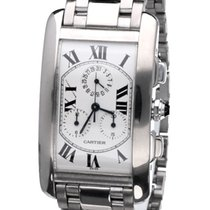 Cartier Tank Américaine tweedehands 45mm Witgoud