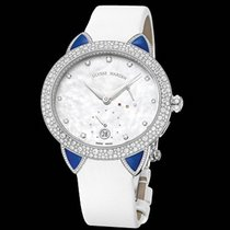 Ulysse Nardin Jade White gold 36mm Mother of pearl No numerals