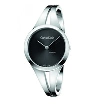 4663a2a516b3 ck Calvin Klein Ladies K7W2S111 Addict Medium Stainless Addict ...