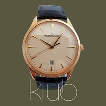 Jaeger-LeCoultre Master Ultra Thin Date Oro rosado 40mm Champán Sin cifras