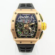 Richard Mille RM 011 Roségoud 50mm Doorzichtig Arabisch