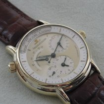 Jaeger-LeCoultre Master Geographic Gelbgold 37mm Champagnerfarben