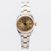 Rolex Oyster Perpetual Lady Date Steel 26mm White No numerals