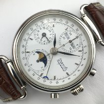 Auguste Reymond Chronograph 37mm Automatic pre-owned White