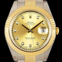 Rolex Datejust II Gold/Steel 41mm Champagne No numerals United Kingdom, London