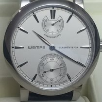 Wempe Chronometer 43,0mm Manual winding 2013 new Silver