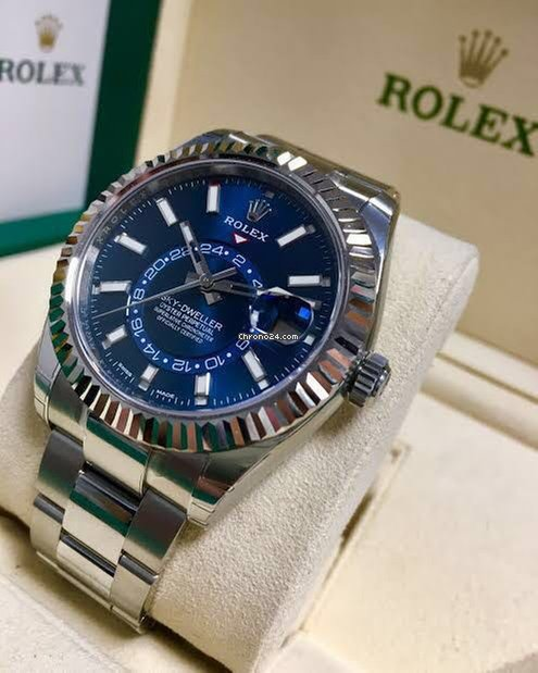 Rolex Sky Dweller Blue Dial For 24 984 For Sale From A