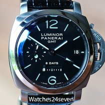 Panerai Luminor 1950 8 Days GMT 44mm Arabic numerals