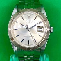 Rolex Datejust Turn-O-Graph Steel 36mm Silver No numerals