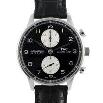 IWC Portuguese Chronograph Steel 41mm Black Arabic numerals United States of America, Pennsylvania, Southampton