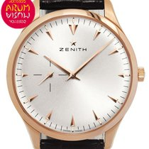 Zenith Elite Ultra Thin Oro rosado 40mm Plata Sin cifras España, Madrid
