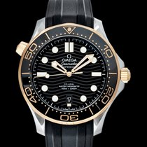 Omega Seamaster Diver 300 M Yellow gold 42mm Black United States of America, California, San Mateo
