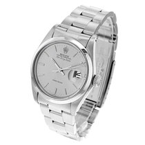 Rolex Air King Date Acero 34mm Plata