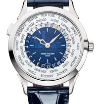 Patek Philippe World Time White gold 38.5mm Blue United States of America, California, Los Angeles